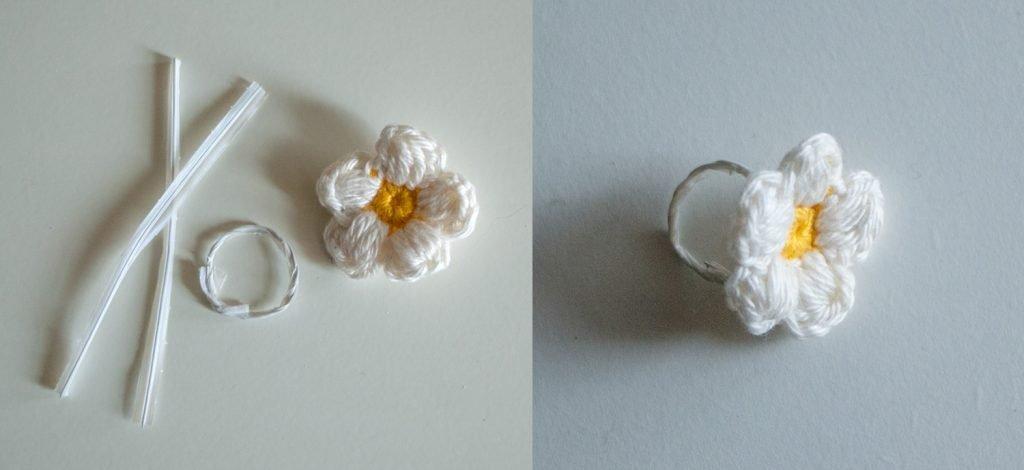 DIY: Blumen-Schmuck Armband und Ring für Kinder
