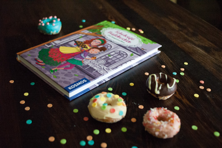 Selbst gemachte Donuts aus dem Backofen